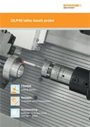 Brochure: OLP40 lathe touch probe
