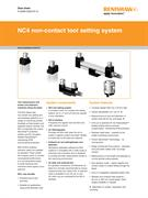 Data sheet: NC4 non-contact tool setting system