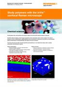 Application note:  Study polymers with the inVia confocal Raman microscope