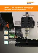 Brochure: MP250 — the world's first strain gauge probe for grinding machines