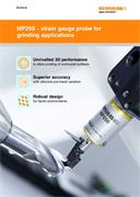 Brochure:  MP250 – strain gauge probe for grinding applications