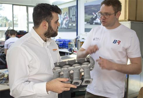 Renishaw supports Brunel Racing in Formula Student competition